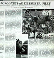 Emmanuel Bouchard in Le Journal des sportifs, June 1997